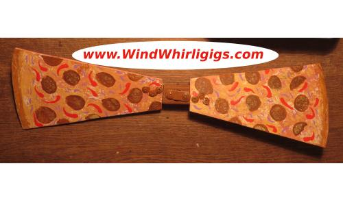 www.WindWhirligigs.com rolling out a Pizza Whirligig
